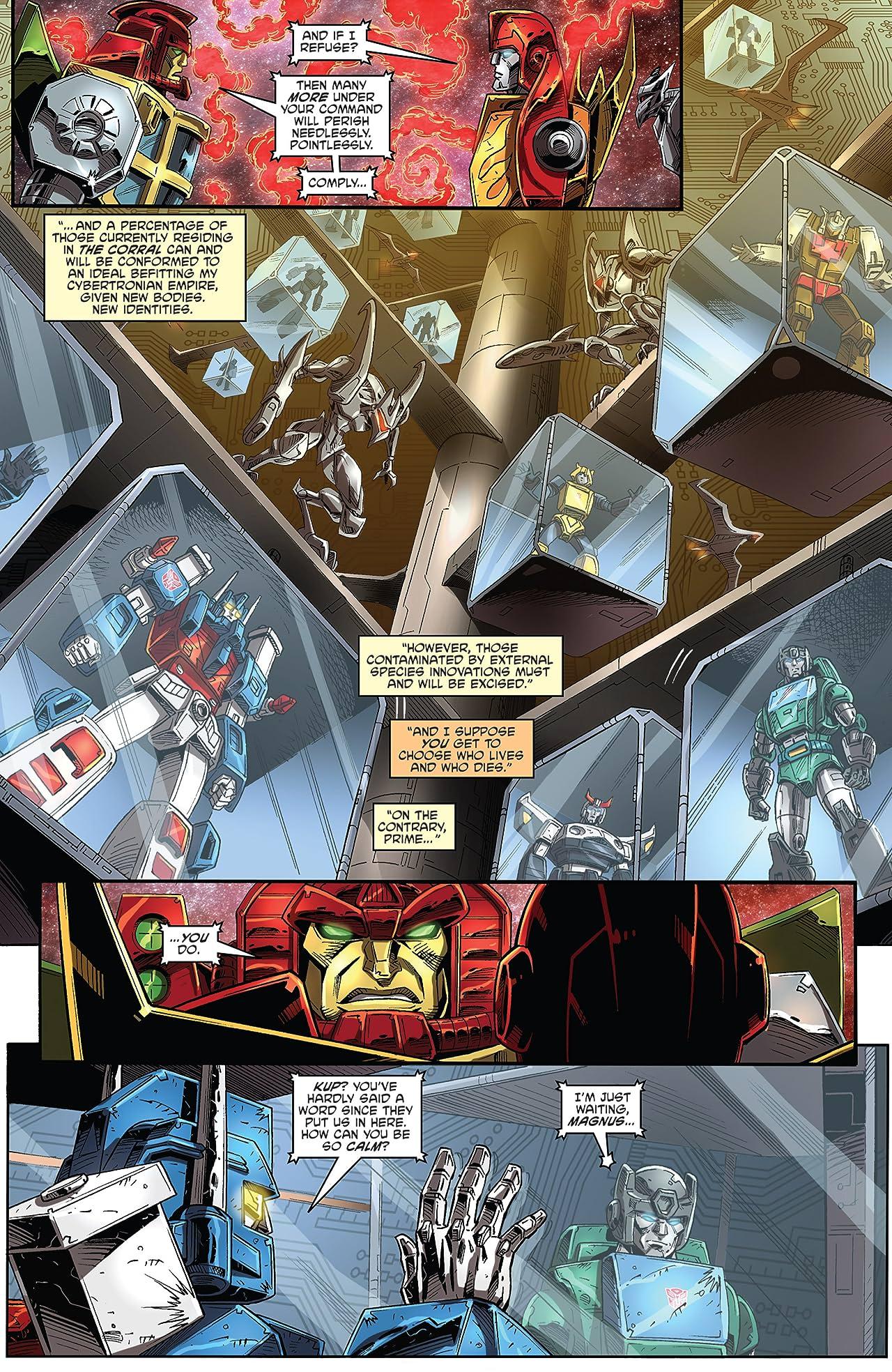 Transformers: Regeneration One #99