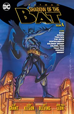 Batman: Shadow of the Bat Tome 4
