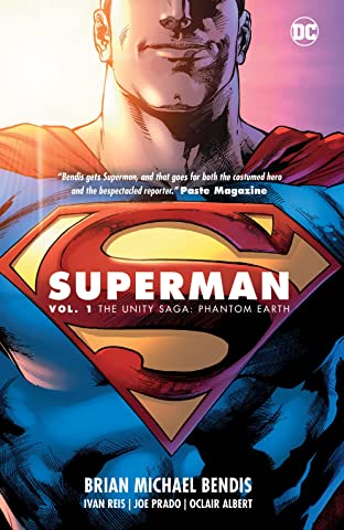 Superman (2018-) Tome 1: The Unity Saga: Phantom Earth