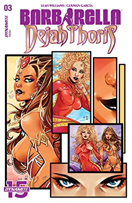 Barbarella/Dejah Thoris #3