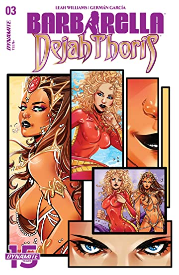 Barbarella/Dejah Thoris #3