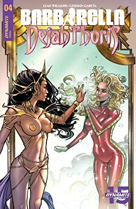 Barbarella/Dejah Thoris #4