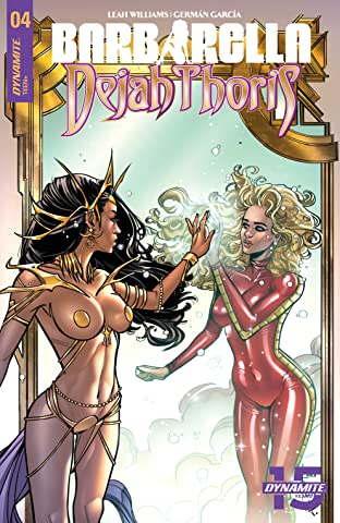 Barbarella/Dejah Thoris No.4