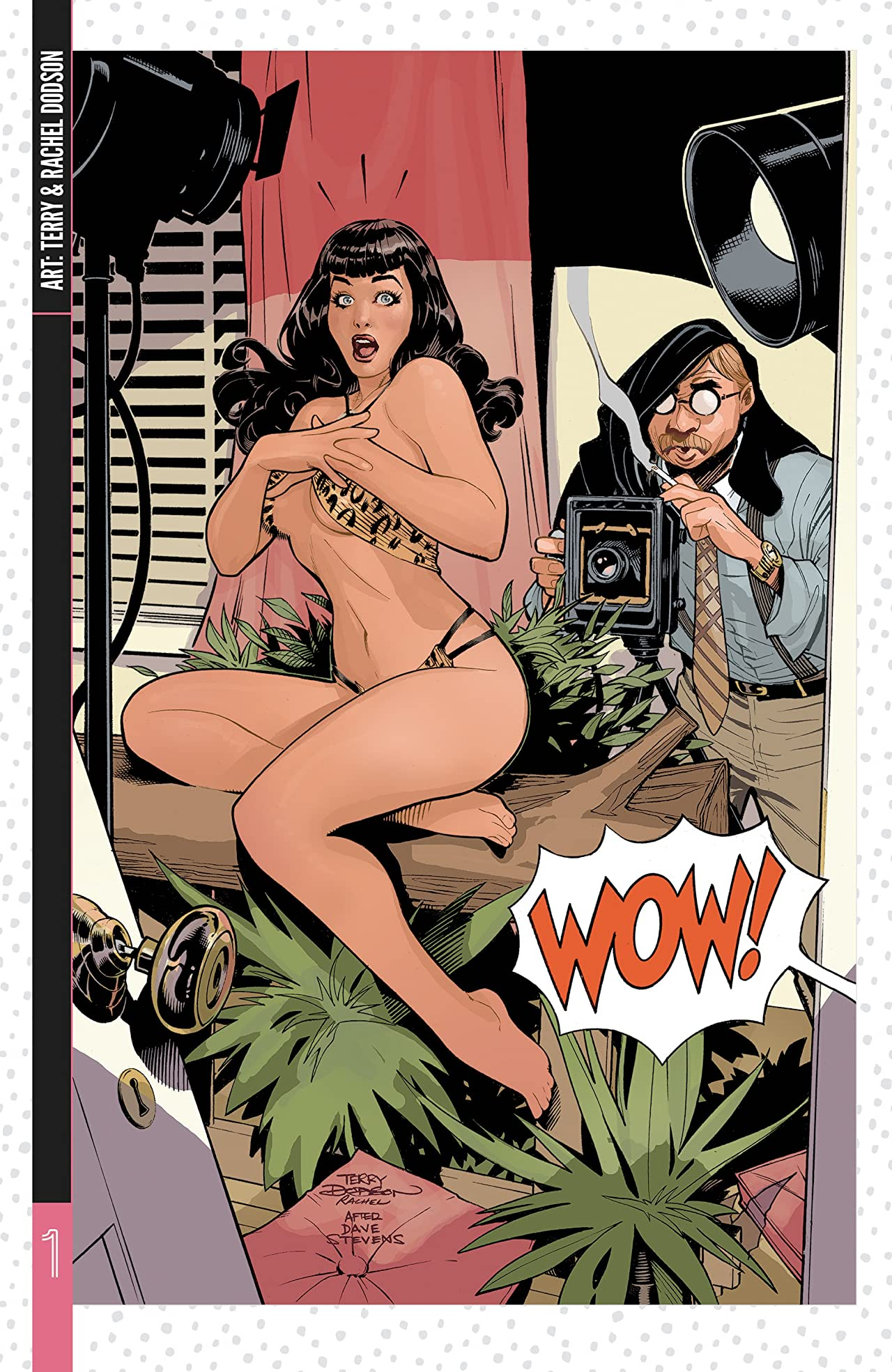 Bettie Page: The Dynamite Covers