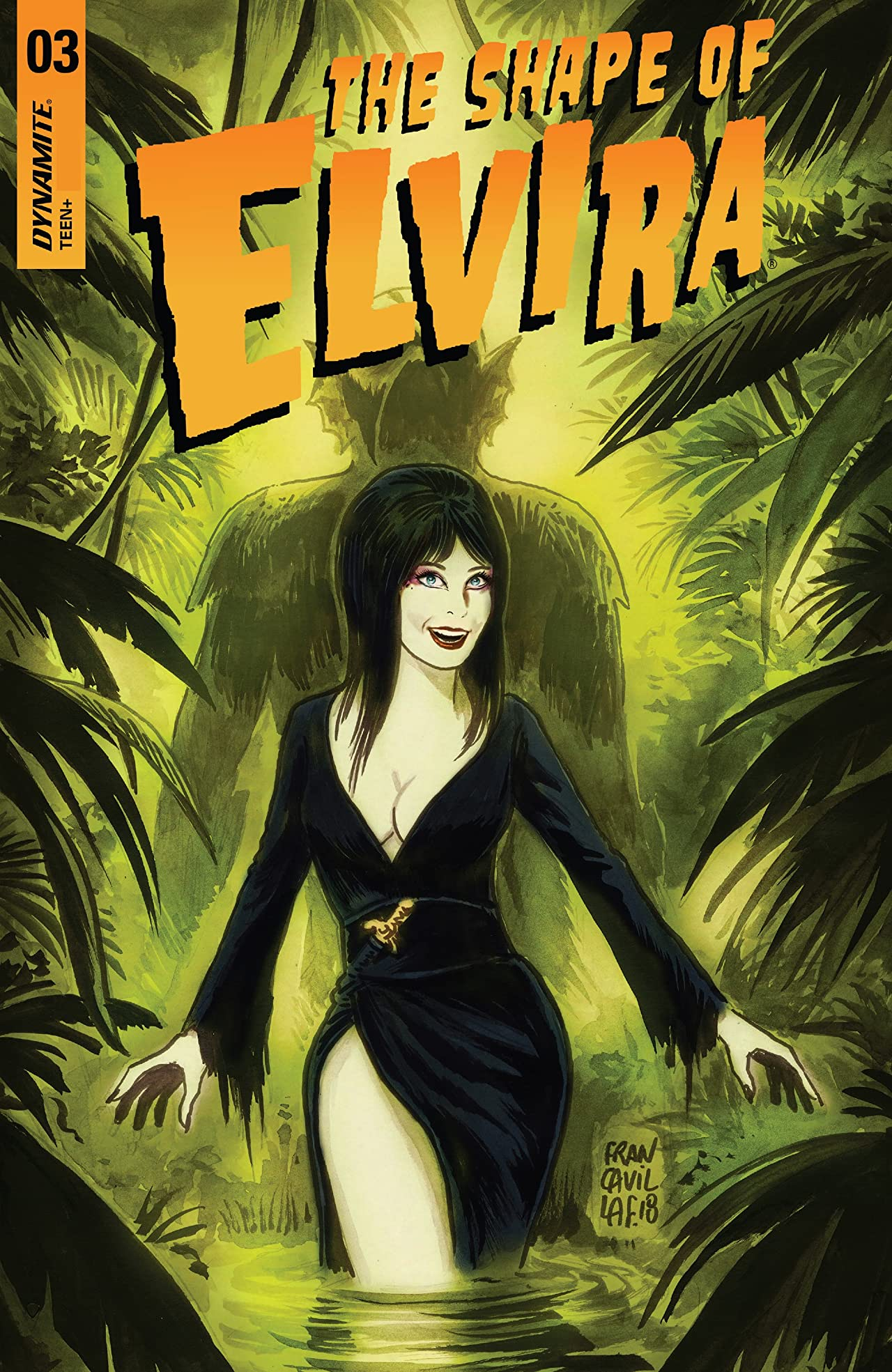 Elvira: The Shape of Elvira #3