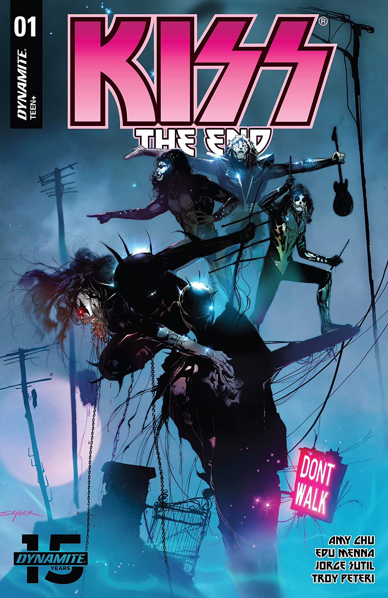 Kiss: The End #1
