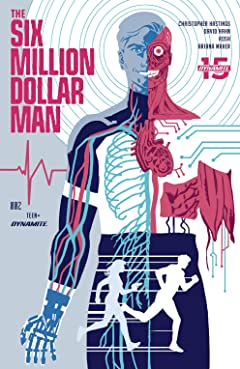 The Six Million Dollar Man (2019-) #2