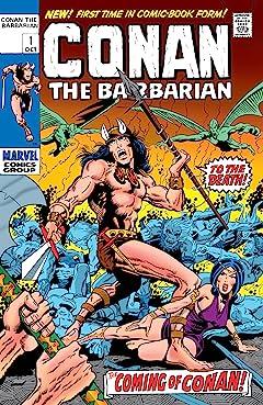 Conan The Barbarian (1970-1993) #1