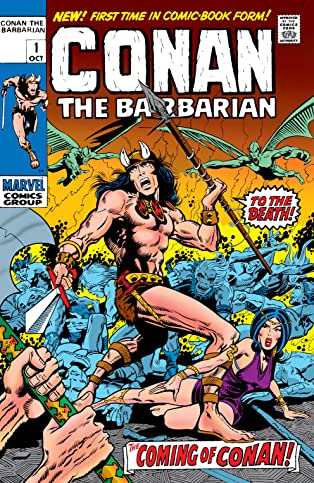 Conan The Barbarian (1970-1993) #1