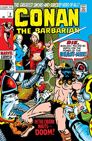 Conan The Barbarian (1970-1993) #2