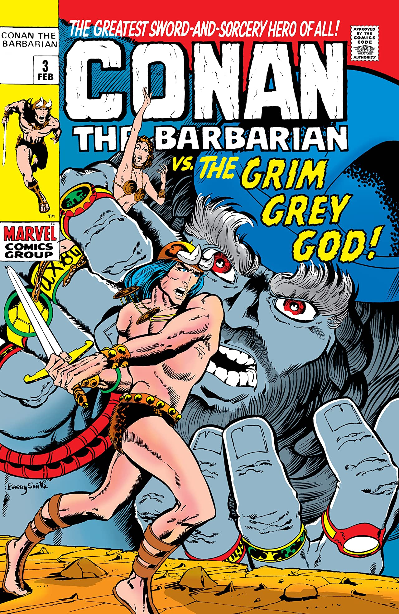 Conan The Barbarian (1970-1993) #3