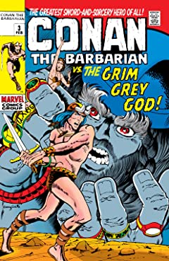 Conan The Barbarian (1970-1993) No.3