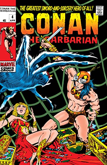 Conan The Barbarian (1970-1993) No.4