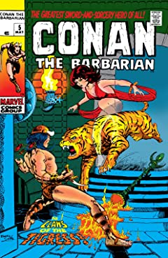 Conan The Barbarian (1970-1993) No.5