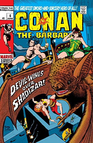 Conan The Barbarian (1970-1993) #6