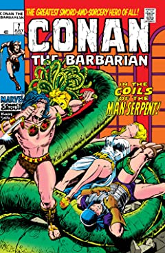 Conan The Barbarian (1970-1993) #7
