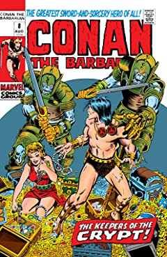 Conan The Barbarian (1970-1993) No.8