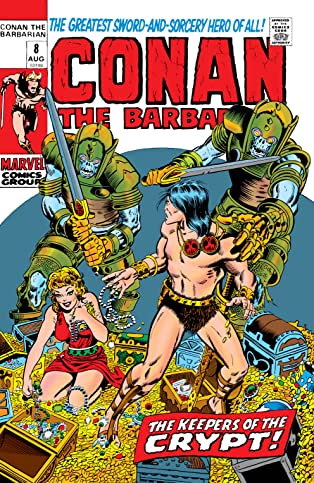 Conan The Barbarian (1970-1993) #8