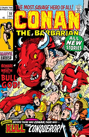 Conan The Barbarian (1970-1993) #10