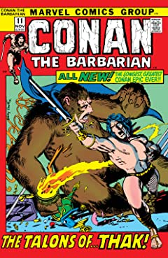 Conan The Barbarian (1970-1993) #11
