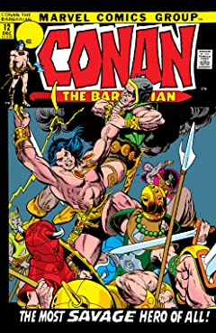 Conan The Barbarian (1970-1993) No.12