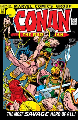 Conan The Barbarian (1970-1993) #12