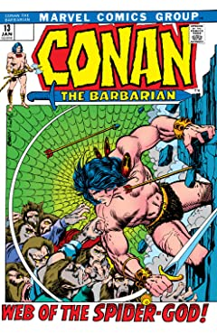 Conan The Barbarian (1970-1993) #13