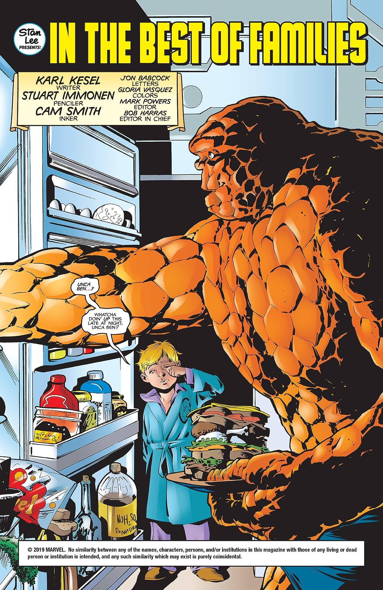 Fantastic Four Annual 1998 #1