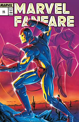 Marvel Fanfare (1982-1992) #44