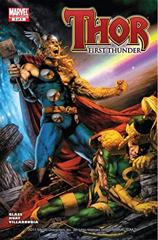 Thor: First Thunder No.5 (sur 5)