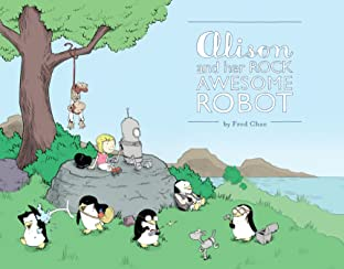 Alison and her Rock Awesome Robot Tome 1