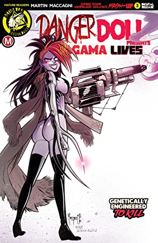 Danger Doll Squad Presents: Amalgama Lives! No.3
