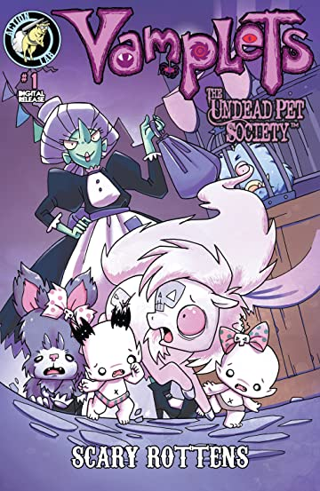 Vamplets: The Undead Pet Society: Scary Rottens #1