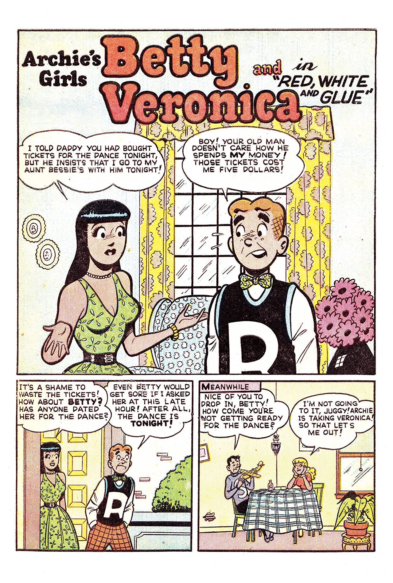 Archie's Girls Betty & Veronica #9