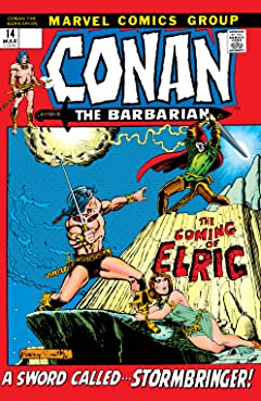 Conan The Barbarian (1970-1993) #14