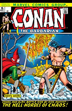 Conan The Barbarian (1970-1993) No.15