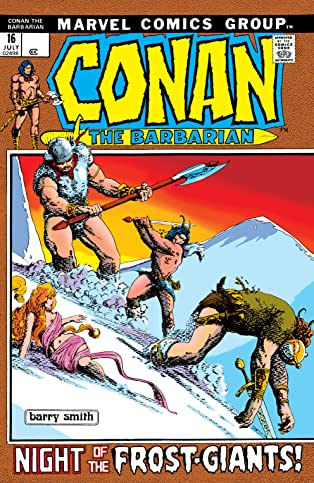 Conan The Barbarian (1970-1993) #16