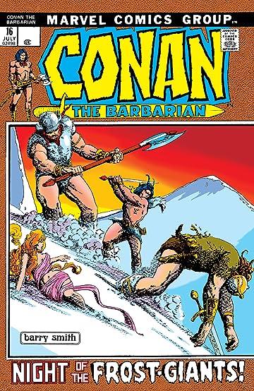 Conan The Barbarian (1970-1993) #16