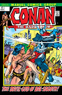 Conan The Barbarian (1970-1993) No.17