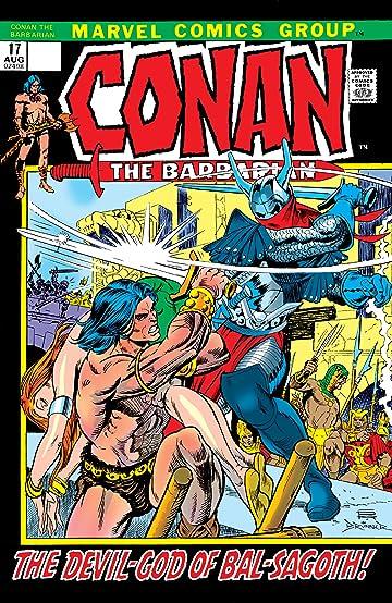 Conan The Barbarian (1970-1993) #17