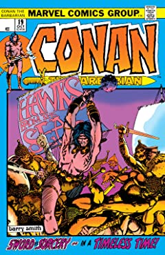Conan The Barbarian (1970-1993) No.19
