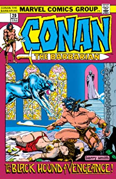 Conan The Barbarian (1970-1993) #20