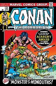 Conan The Barbarian (1970-1993) #21