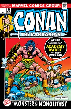 Conan The Barbarian (1970-1993) No.21