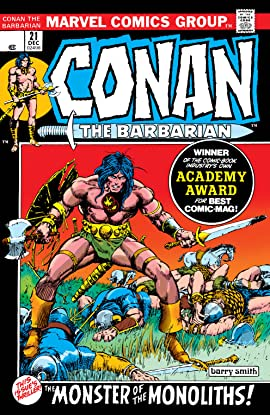 Conan The Barbarian (1970-1993) #21