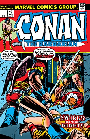 Conan The Barbarian (1970-1993) No.23