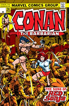 Conan The Barbarian (1970-1993) No.24