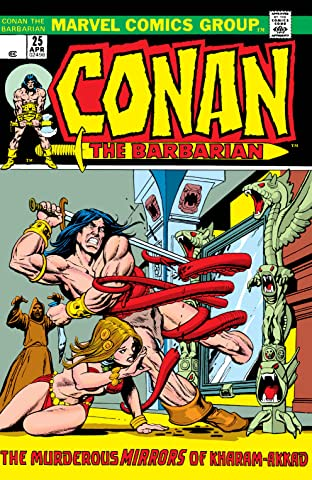 Conan The Barbarian (1970-1993) #25