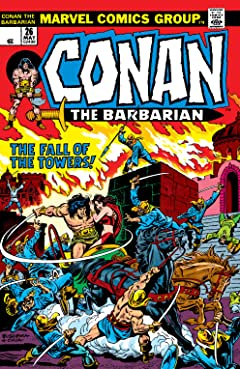 Conan The Barbarian (1970-1993) No.26
