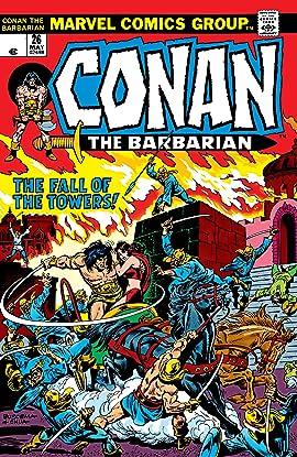 Conan The Barbarian (1970-1993) #26